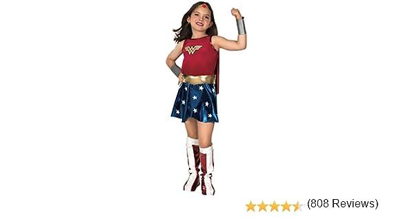 Rubies Wonder Woman Deluxe - Niños Disfraz - Medium - 132cm ...