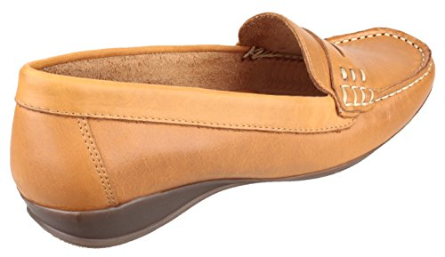 Design Casual Colore Tan Per In mocassino west Scarpe Da Cotswold Stile Donna Pelle Marrone Products Limited 5O7ZqR