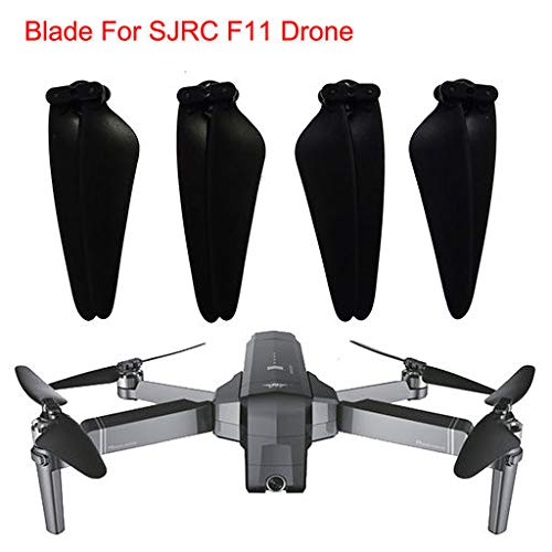2019 Best Gift!!! Cathy Clara 4pc Spare Parts CW&CCW Propeller Blade for SJRC F11 GPS RC Quadcopter Drone