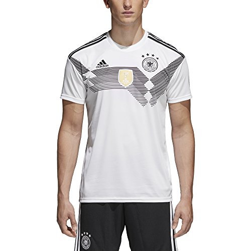 Jersey Adidas Authentic Home Mens - adidas Men's 2018 Germany Home Jersey White/Black Large
