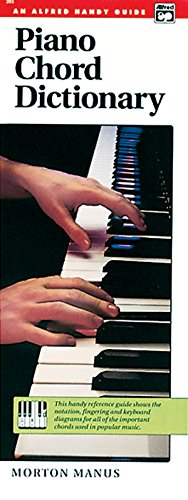 Piano Chord Dictionary: Handy Guide