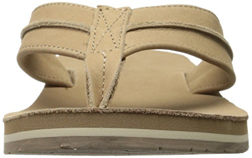 206 Collectif Elliott Flip Flop Tan Cuir Nubuck