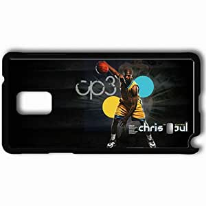 Personalized Samsung Note 4 Cell phone Case/Cover Skin 14678 Chris Paul by buckeyesloopy82 Black