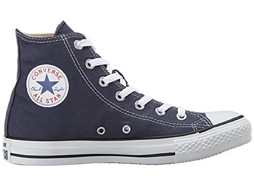 Mens C Taylor A/S HI Sneakers (9 (MEN'S) / 11 (WOMEN'S) US, Navy)