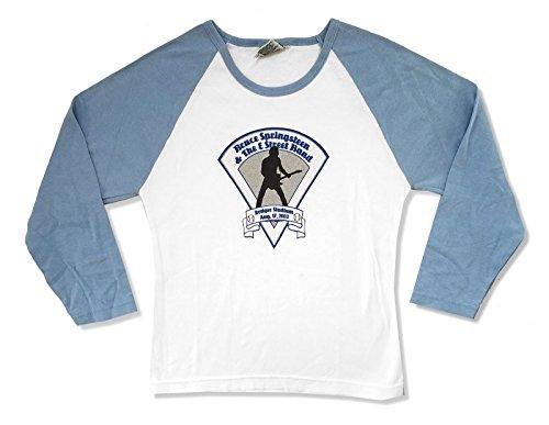 Bruce Springsteen Dodger Stadium 2003 Juniors Raglan Shirt (L) White