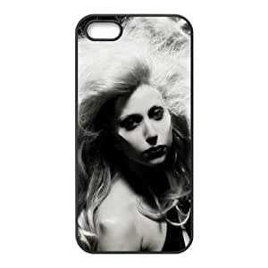C-EUR Diy Lady Gaga Hard Back Case for Iphone 5 5g 5s
