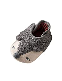 OUSLIN❤Baby Boys Girls Cute Expression Shoe Hedgehog Warm Winter Shoes(Infant/Toddler)