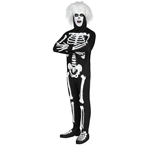Fun World Men's Licensed Saturday Night Live Beat Boy Skeleton, Black STD. Up to 6' / 200 -