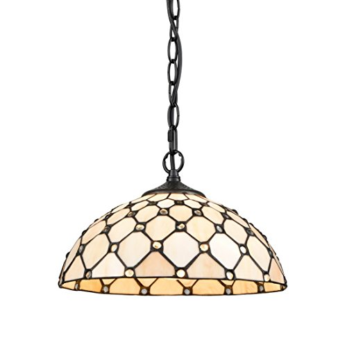 Real Stained Glass Tiffany Style Handcrafted Pendant Light in US - 6