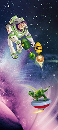 Toy Story Poster Photo Wallpaper Buzz Lightyear And Rex In Space