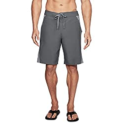 Under Armour Mens Rigid Boardshorts, Graphite (041)elemental, 36