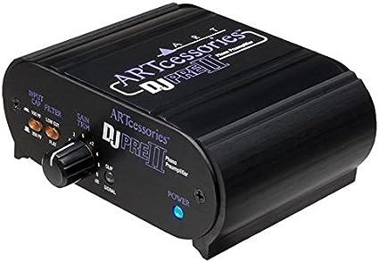 Amazon.com: ART Pro Audio DJPRE II Phono preamplificador con ...
