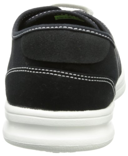 crocs LoPro Canvas Plim Sneaker Men - Caña baja de lona hombre negro - Schwarz (Black 001)