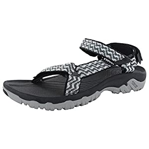 Teva Womens Hurricane XLT Athletic Sandal Shoes, Abysses Grey, US 9