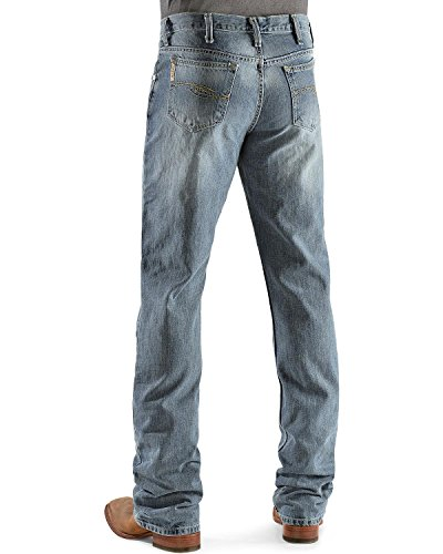 Cinch Men's Dooley Relaxed Fit Jeans Light Stone 32W x 34L (Mens Cinch)