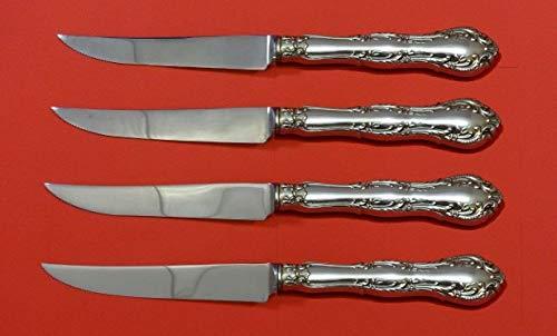 ce Sterling Silver Steak Knife Set 4pc HHWS Custom 8 1/2