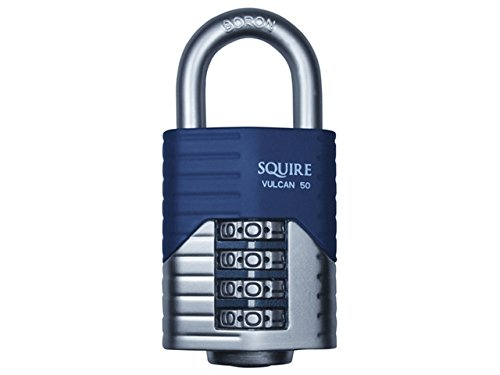 Henry Squire - Vulcan Open Boron Shackle Combination Padlock 40mm