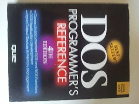 DOS Programmer's Reference - Dos Microsoft Windows