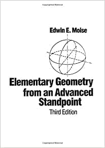 Elementary geometry from an advanced standpoint moise