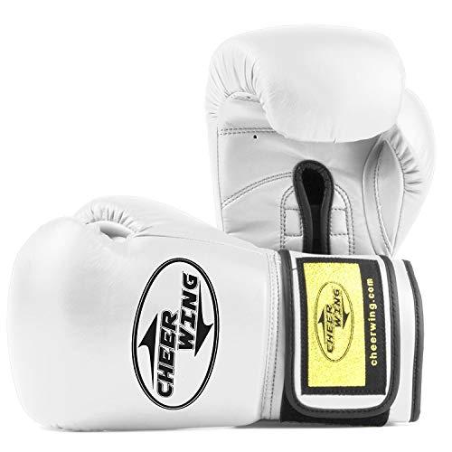 Cheerwing Pro Boxing Gloves for Men & Women, Kickboxing Gloves Sparring Punching Bag Training Gloves