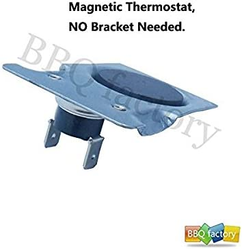 fireplace blower kit Magnetic Thermostat Switch for fireplace fan HOME-Mate Magnetic Temperature Switch on Magnetic Bracket