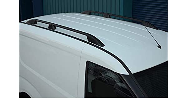 2010 + Juego de Barras Laterales de Aluminio para Techo de ALVM Parts y Accesorios para Adaptarse a SWB Doblo