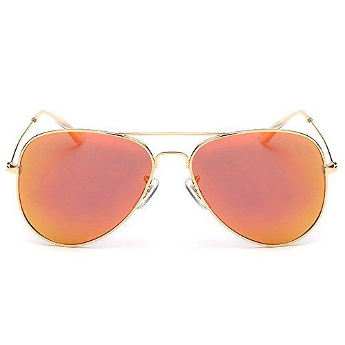 Conducción Espejo De Polarizado Yindarkgreen Unisex De Playa Sol Dama Gafas Diseñador Gafas Turismo Moda RinV Orange La PHwzqS