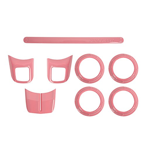 pink and black car accessories - 9