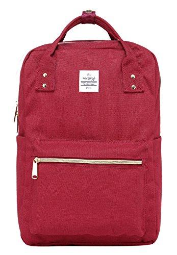 DISA Bolso mochila   Cabe un MacBook de 15 pulgadas   37x26x14 cm   Plata D219a, Marron