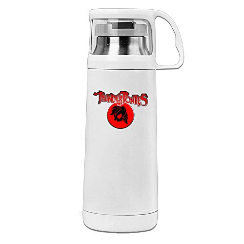 POY-SAIN Thundercats Cute Sport Water Bottle With Handle Vacuum Cup