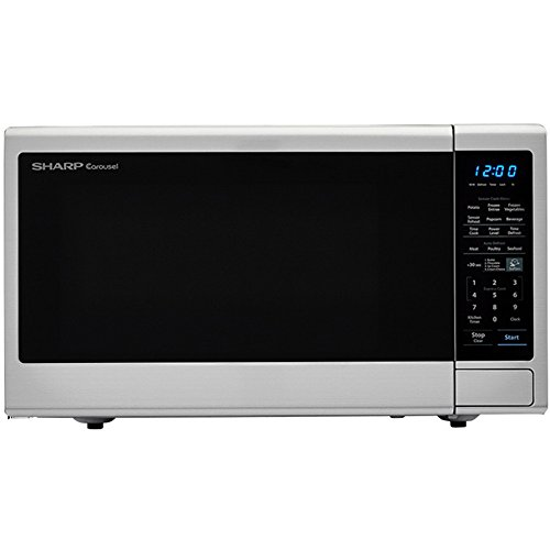 - Carousel 1.8 Cu. Ft. 1100W Countertop Microwave Oven