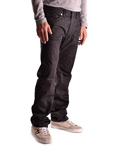 Against My Killer Herren MCBI342001O Schwarz Baumwolle Jeans