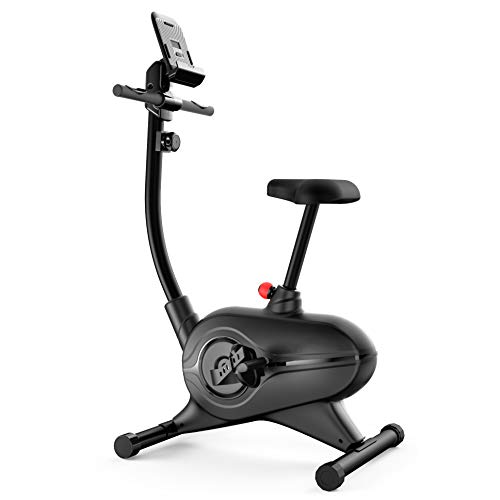 SereneLife Exercise Bike – Upright Stationary Bicycle Cardio Cycle Pedal Trainer Fitness Machine Equipment with Digital…