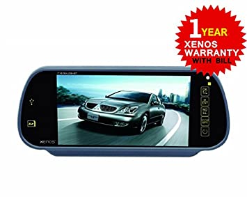Xenos Grey Raptor RVM Rear View Monitor With USBSDFMBT - Xenos sports cars