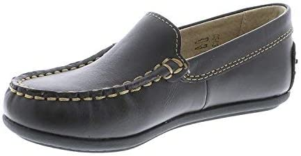 9204//10 Toddler M//W FOOTMATES Brooklyn Slip-On Loafer Brown