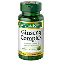 Ginseng by Nature's Bounty, Ginseng  Complex Capsules Supports Energy & Immune Function...