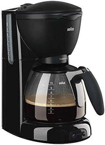 Americana semiautomática cafetera de filtro Profesional Special Memory Core Dial Café Base de aislamiento Sistema de goteo Función anti goteo Diseño Cafetera adecuado for la familia de oficina, etc. j: Amazon.es: Hogar