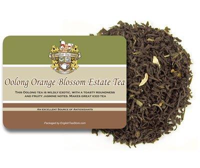 (Oolong Orange Blossom Estate Tea - Loose Leaf - 16oz)