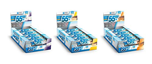FREY Nutrition 55er Proteinriegel, 20 Riegel (20 x 50 g) - Mix-Box