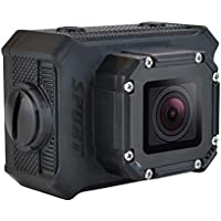Celendi WiFi 14MP 1080P HD Waterproof Sports Action Camera - 2 Inch LTPS LCD - 170° Wide Angle Lens - Black