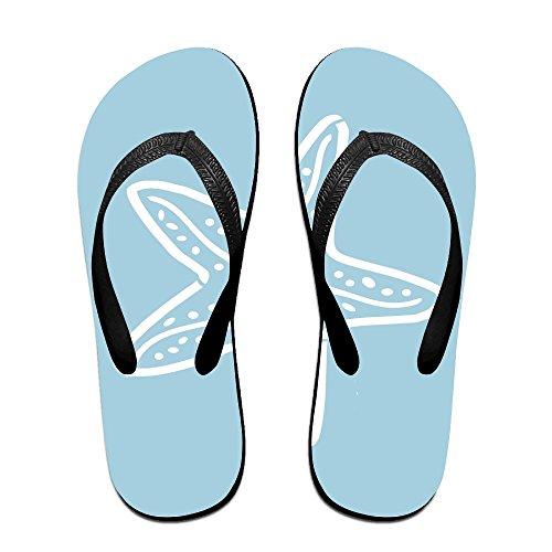Kids for Women Men Starfish Black PTJHKET Slippers Flip Flops Blue pxnwwqCf6