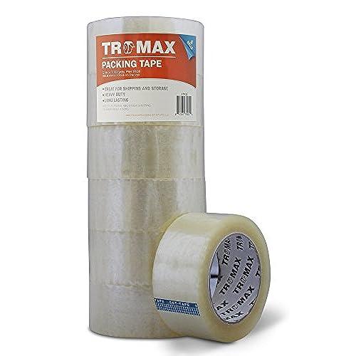 """24 Rolls Premium Brown//Tan Carton Box Sealing Packing Tape 2.0 Mil 3/""""x110 yard"""