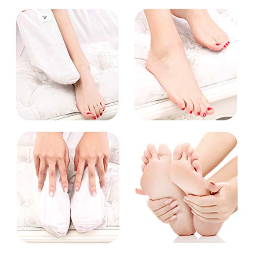 VASSOUL Foot Peel Mask, Feet Callus Remover & Dead Skin Remover, Moisturizing and Whitening Feet, Baby Your Feet Naturally (S1)