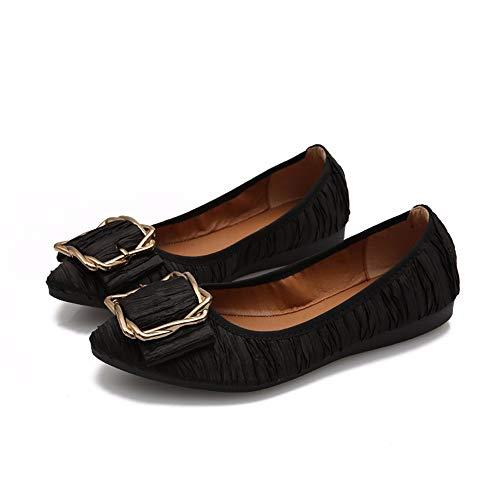 lavoro scarpe Scarpe 33 donna scarpe e 32 morbide EU comode comode e morbide da FLYRCX EU nere da FqO1W