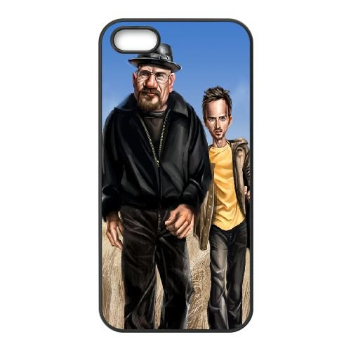 Breaking Bad 010 coque iPhone 4 4S cellulaire cas coque de téléphone cas téléphone cellulaire noir couvercle EEEXLKNBC23766