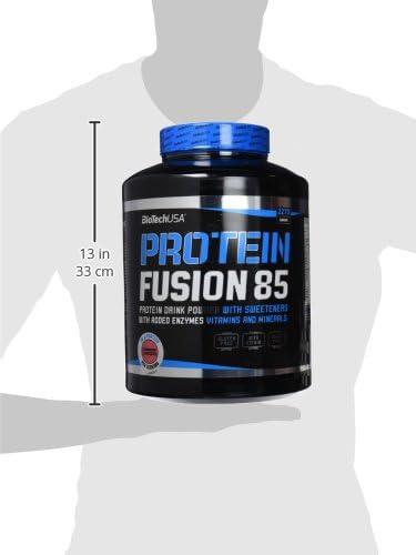 BioTech Fusion 85 Proteínas Sabor Strawberry - 2270 gr