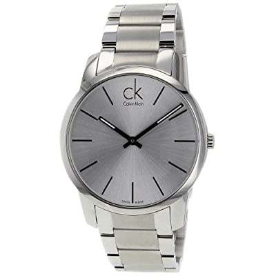 Calvin Klein Men's CK City Watch in Silver, K2G21126