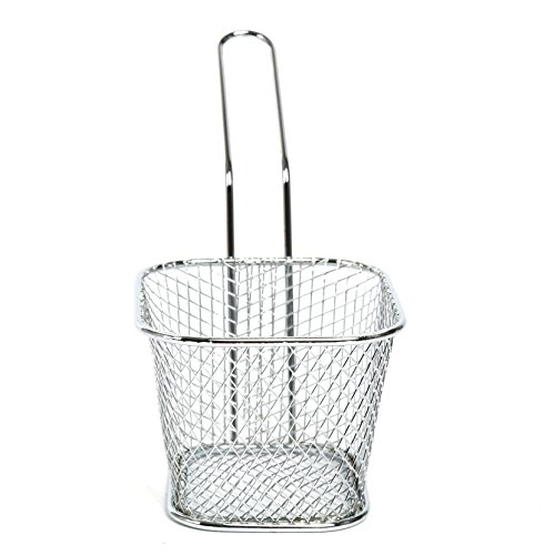 Yaekoo 8Pcs Mini Mesh Wire French Fry Chips Baskets Net Strainer Kitchen Cooking Tools by Yaekoo (Image #7)