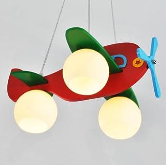 kinder kinder flugzeug kronleuchter lampe kreative comic ... - Kinderzimmer Flugzeug