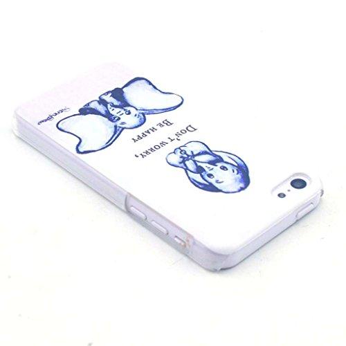 Iphone 5c Dur Coque Etui,Yaobai-Coque de protection en PC pour Apple Iphone 5C Etui Hard case cover housse